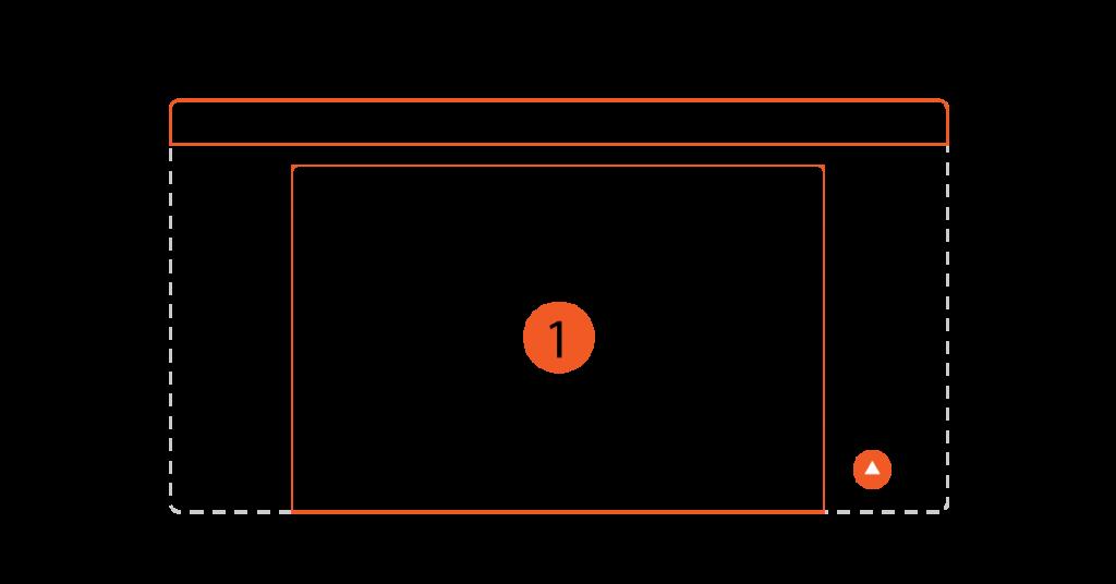 Layout Website: Bố cục trang web 1 Cột (1)