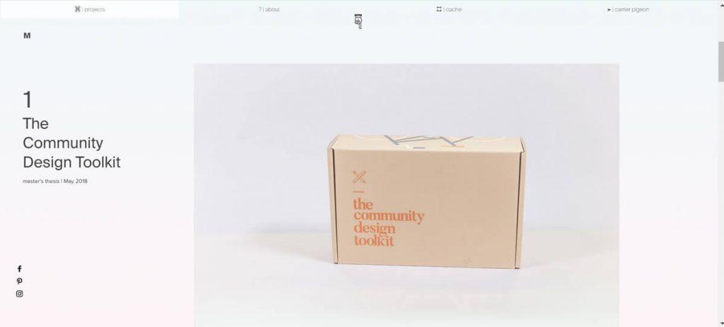 Bí quyết thiết kế website cá nhân từ các nhà thiết kế UX hàng đầu 12