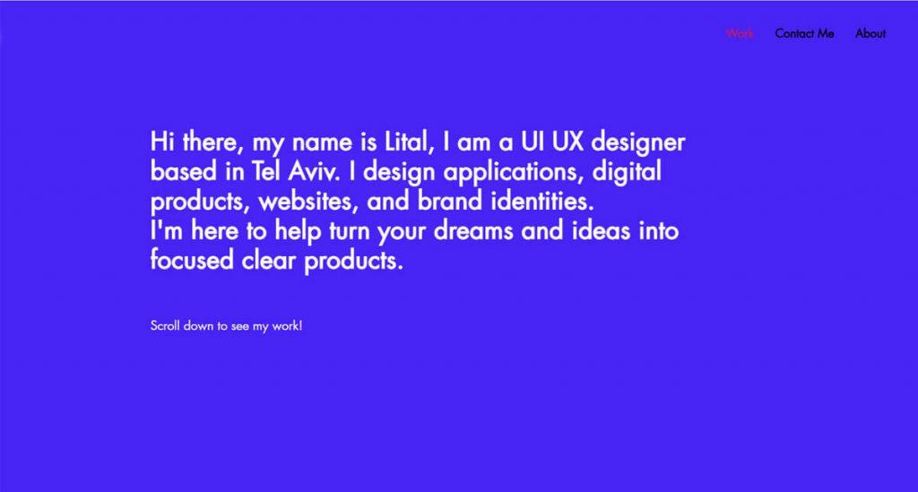 Bí quyết thiết kế website cá nhân từ các nhà thiết kế UX hàng đầu 3