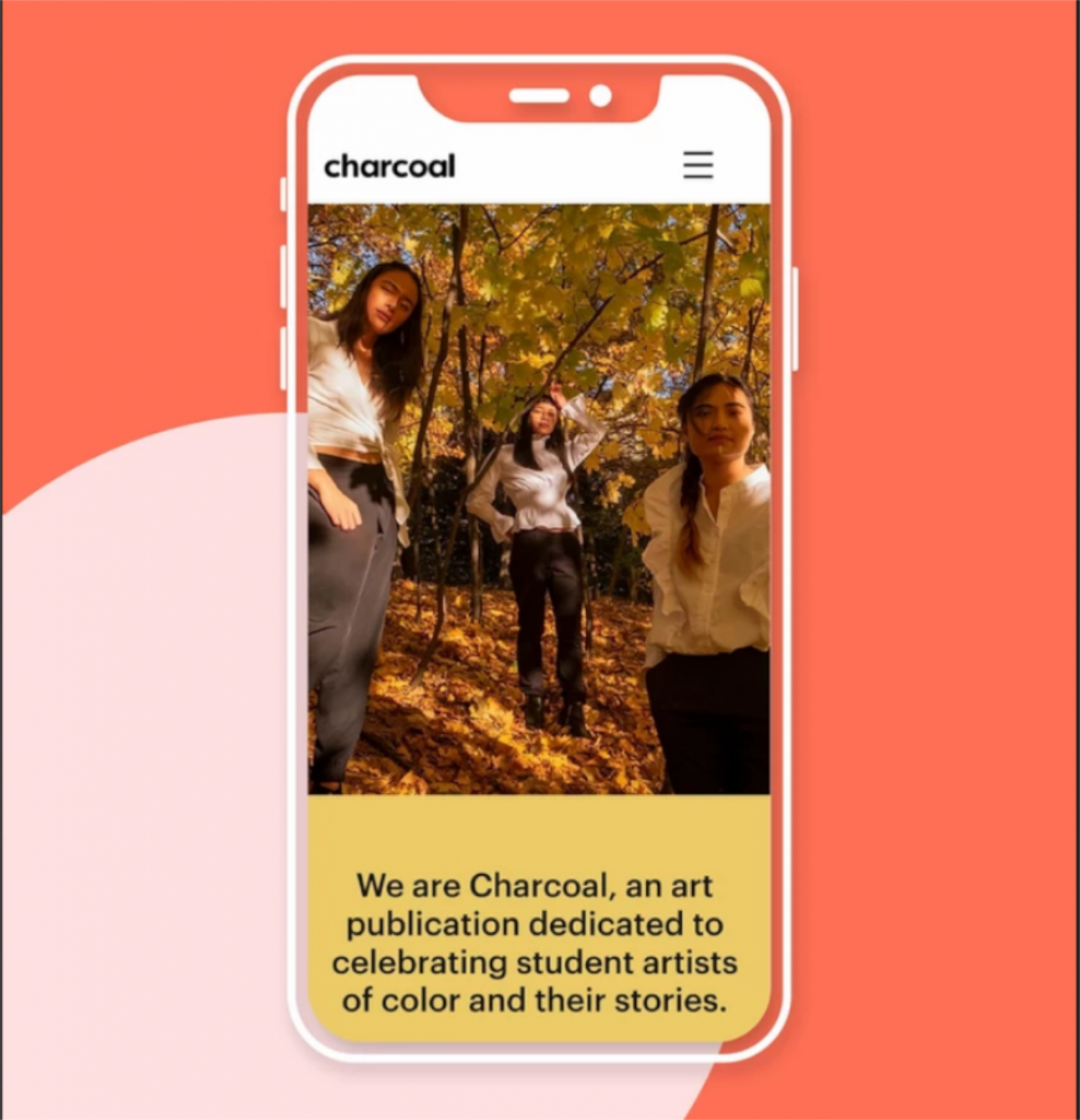 Thiết kế web mobile Charcoal
