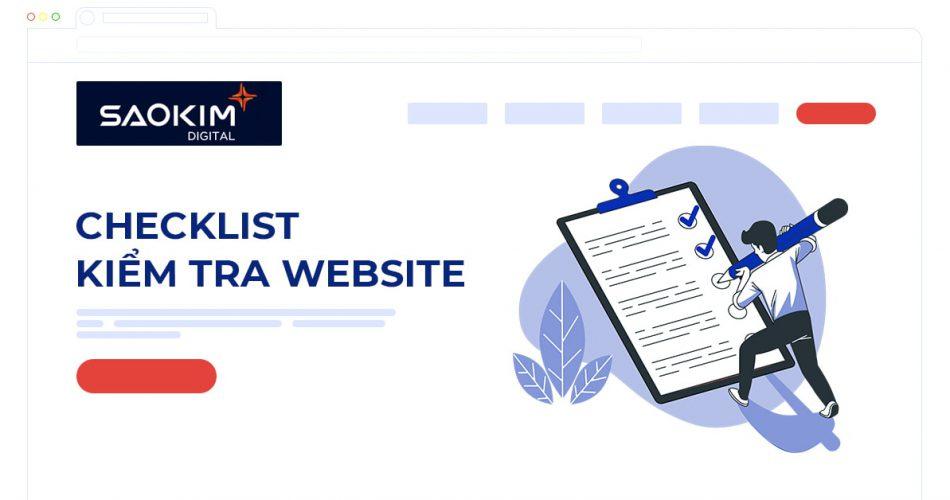 Checklist Kiểm tra Website
