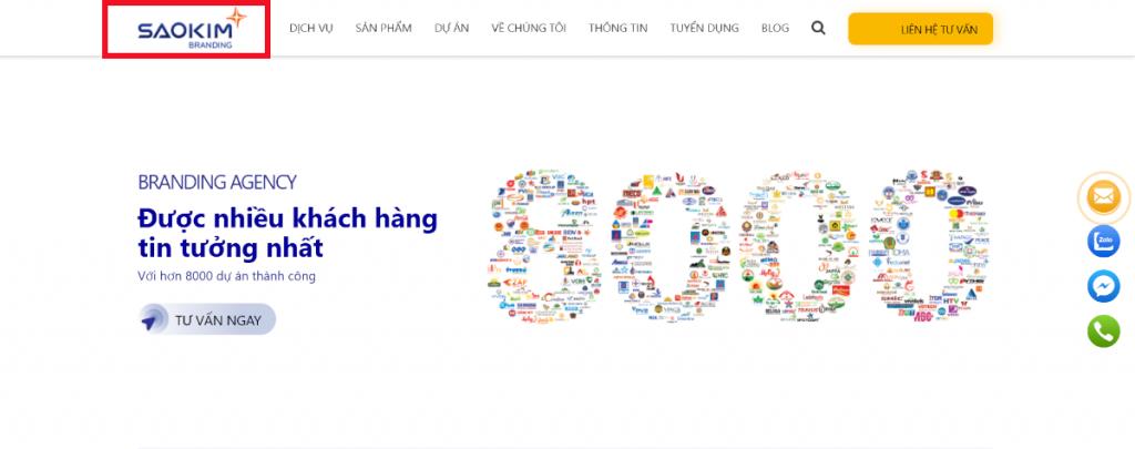 Logo thiết kế web