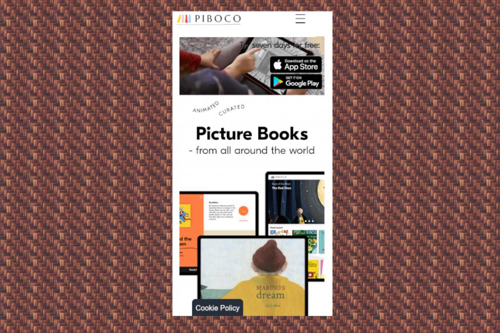 Thiết kế web mobile PIBOCO