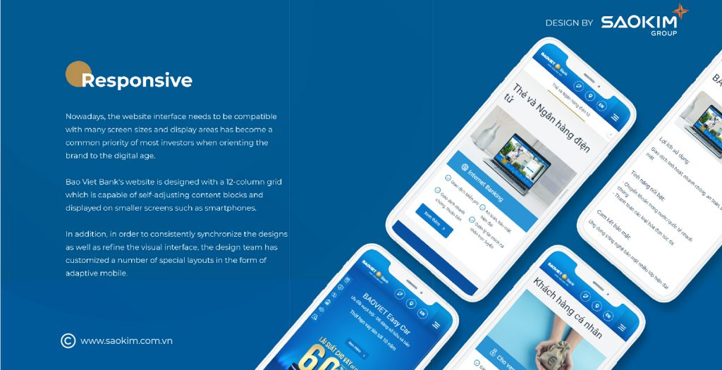 Thiết kế website tốt phải responsive
