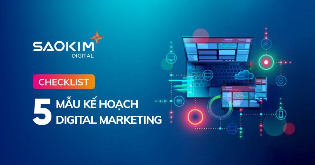 Mẫu kế hoạch Digital Marketing